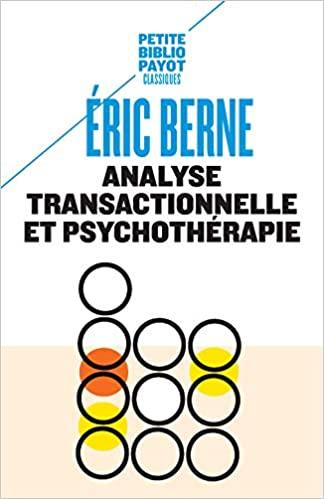 Couverture d'ouvrage: Analyse transactionnelle et psychothérapie